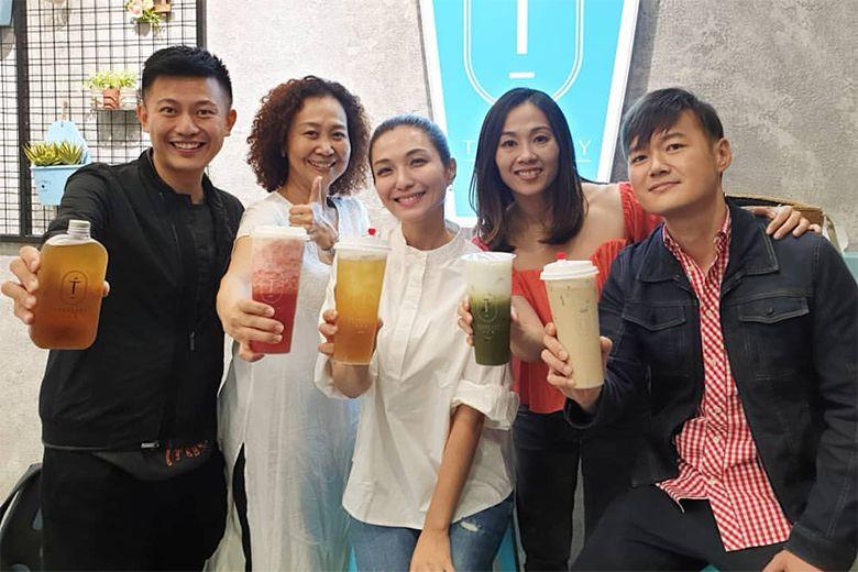 TV host Vivian Lai opens bubble tea shop in Esplanade Xchange